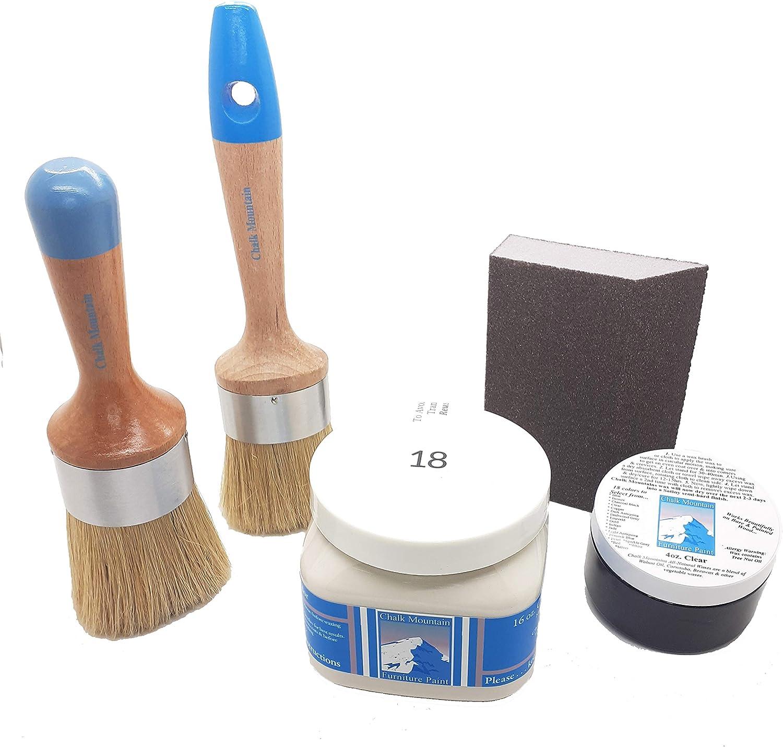 Chalk Mountain Brushes. All in unisex Under blast sales Paint Furniture Starter ONE