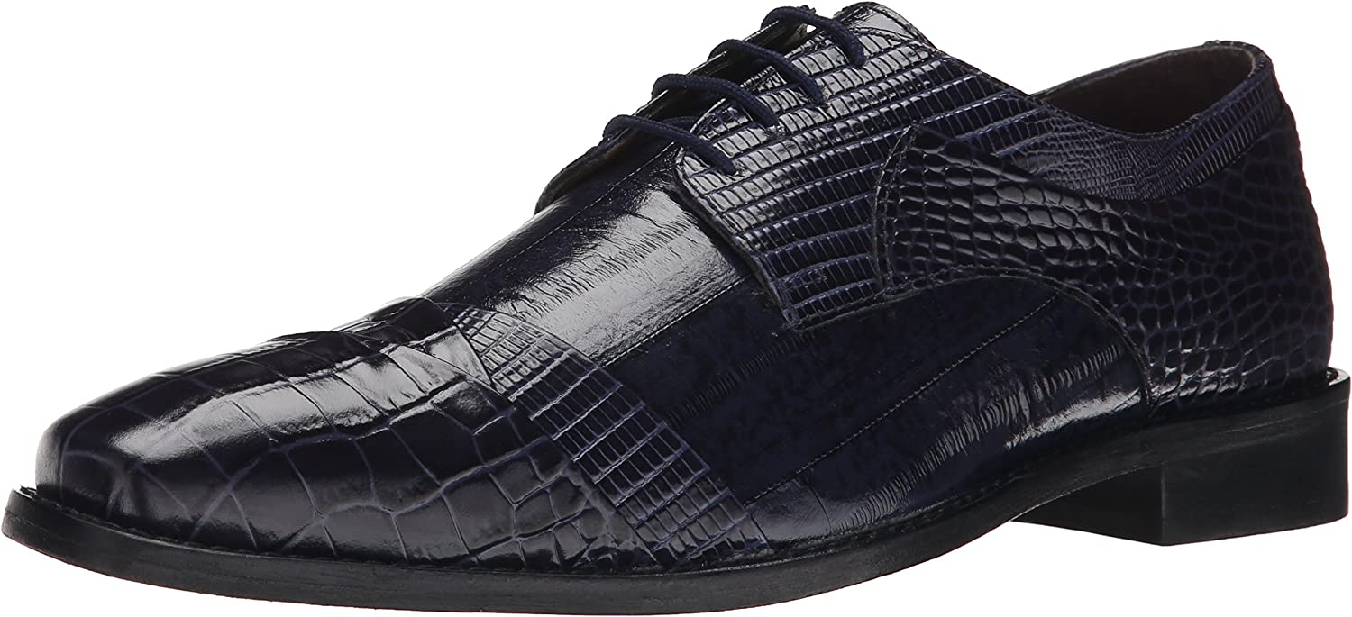 Stacy Stacy Adams Men's Garibaldi Oxford, Blau, 9 W US  Alle Waren sind Specials