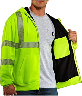 Men's Big & Tall High Visibility Class 3 Thermal Sweatshirt