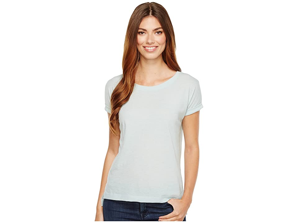 Alternative Eco Gauze Drift Short Sleeve T-Shirt (Mist Blue) Women