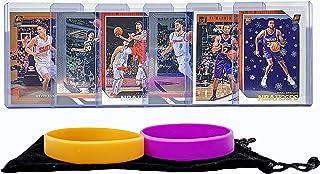 Phoenix Suns Basketball Cards: Devin Booker, T. J. Warren, Kelly Oubre Jr, Tyler Johnson, Josh Jackson, Mikal Bridges ASSORTED Basketball Trading Card and Wristbands Bundle