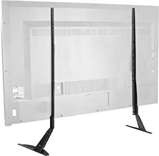 VIVO Extra Large TV Tabletop Stand for 27 to 85 inch LCD Flat Screens | Mount Base with VESA up to 1000x600mm (STAND-TV01T)