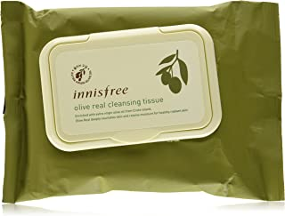 Innisfree Olive Real Cleansing Tissue, 30 Sheets, (150 g)
