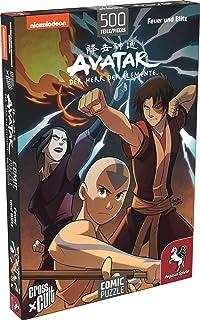 Pegasus Spiele 76002G – Pussel: Avatar – The Sare of Elements (eld och blixt), 500 stycken