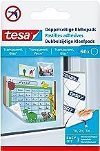 tesa® Dubbelzijdige zelfklevende pads (voor het bevestigen van licht op een transparante ondergrond)