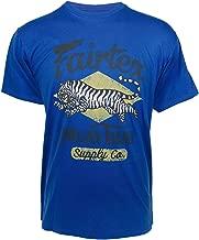 Fairtex Tiger T-Shirt Royal
