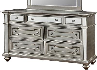 Amazon.com: sauder Harbor View Dresser Antiqued, color ...