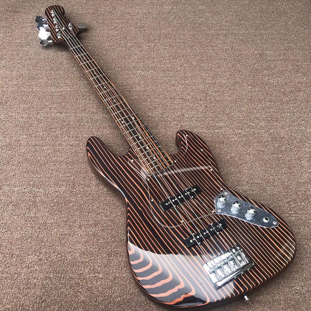 GZSZYA 5 String Max 82% OFF Electric Bass Guitar Wood and Body Max 78% OFF A