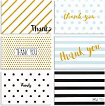 48 Pack Thank You Cards with Envelopes for Baby Showers, Graduation & Wedding