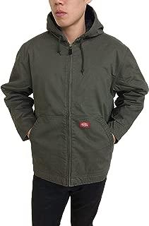 Men's Broken Twill Hooded Jacket