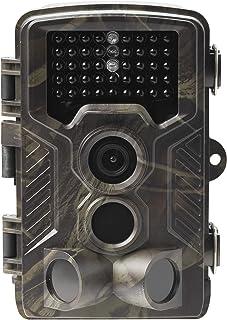 Denver WCM-8010 Cámara de Vigilancia para Caza 2G Videocámara de Naturaleza Impermeable Nocturna 8 MP 1080p