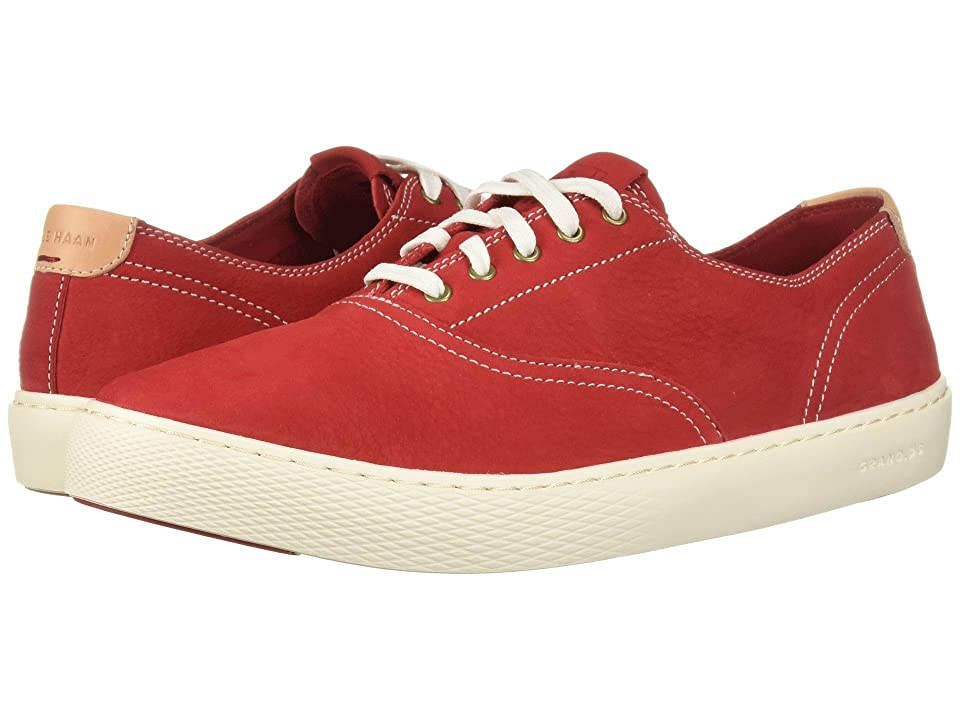 Cole Haan Grandpro Deck Oxford (Tango Red Nubuck) Men