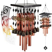 YLYYCC 28 Brass Tube Wind Chimes Copper Bell Decoration Wind Chime Gift
