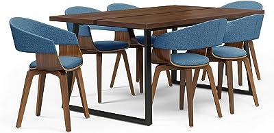 Amazon.com: SunBear Furniture - Juego de 3 sillas de comedor ...