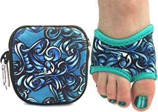 Spinner Skins for Yoga Neoprene Non Slip Yoga Socks Non Slip Half Soles with Pouch