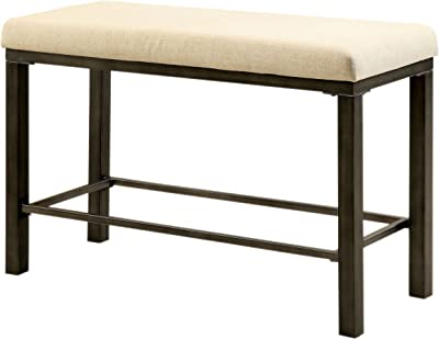 Amazon.com: Chairs MEIDUO Bar stools Bench Solid Wood Long ...