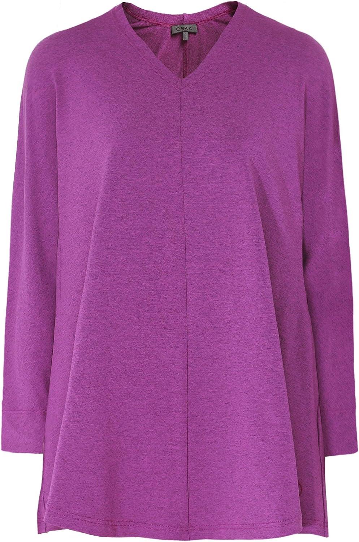 Oska Women's Aucu Jersey Long Sleeve Top purple