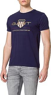GANT Men's D2. ARCHIVE SHIELD SS T-SHIRT T-Shirt