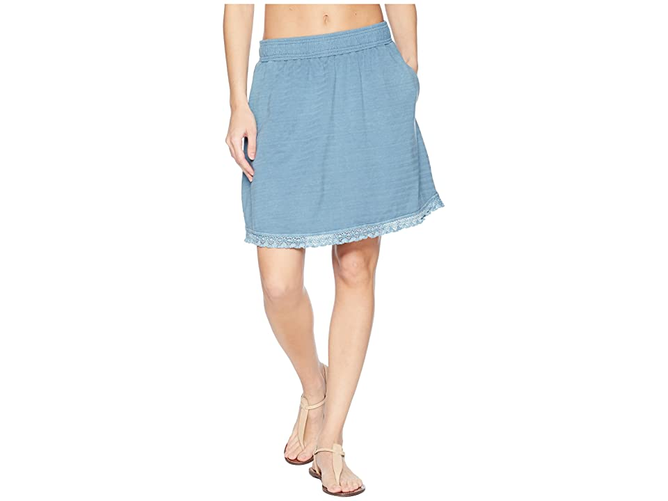 Woolrich Meadows Forks Skirt (Bluestone) Women