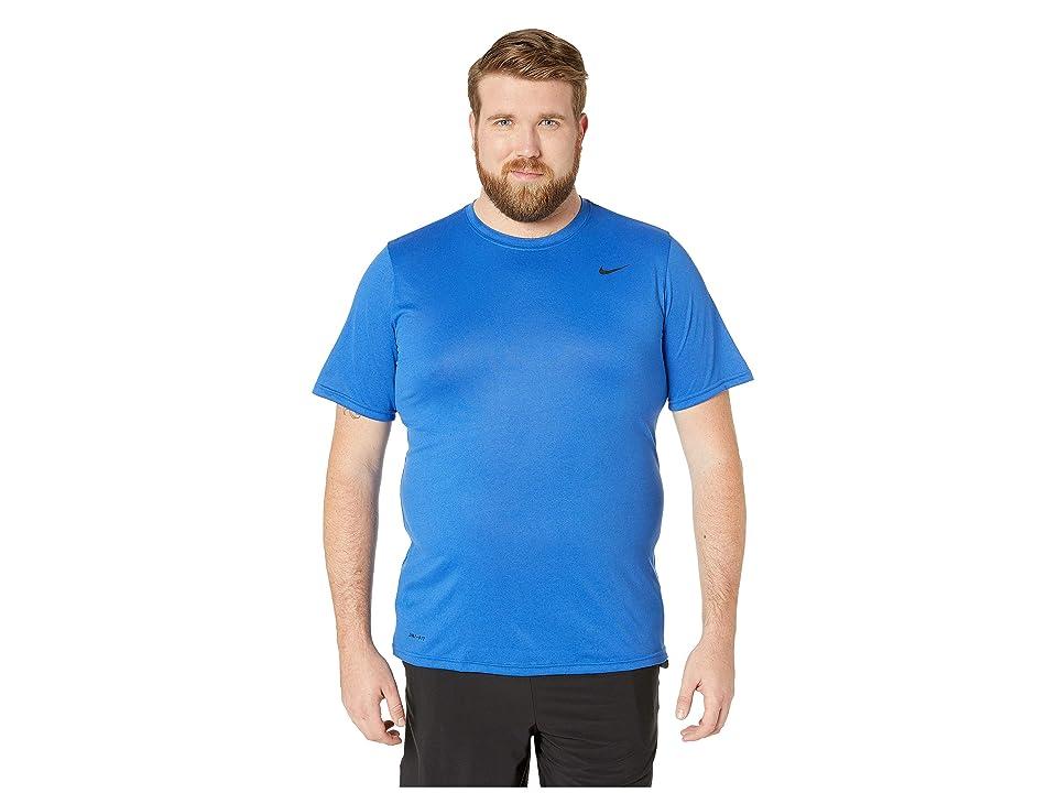 Nike Big Tall Legend 2.0 Short Sleeve Tee (Game Royal/Black/Black) Men