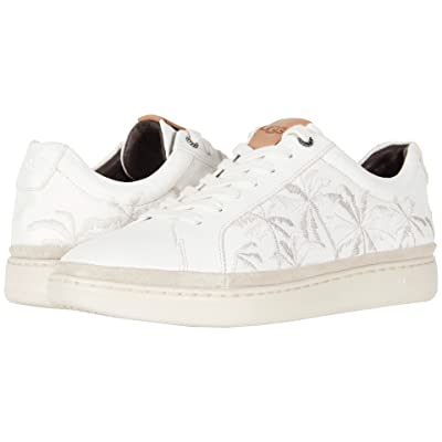 UGG Brecken Lace Low Palms (White Leather) Men