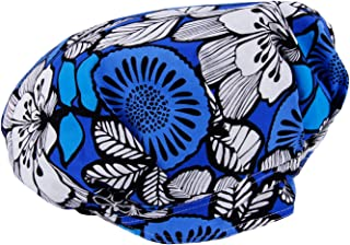 Adjustable Surgical Scrub Cap Medical Doctor Bouffant Hats with Sweatband and Free Cotton Mask