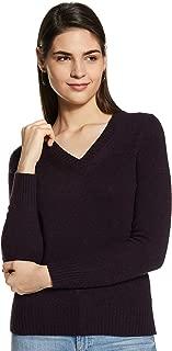 Marks & Spencer Women Wool Rich V-Neck Jumper