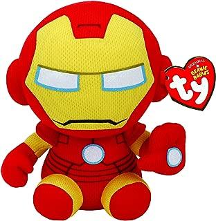 Ty Ironman Plush, Yellow, Regular