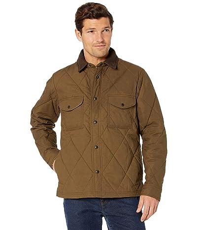 Filson Hyder Quilted Jacket Shirt (Marsh Olive) Men