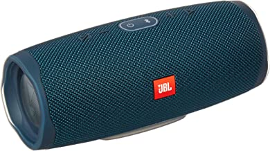JBL Charge 4 Portable Waterproof Wireless Bluetooth Speaker - Blue (Renewed)