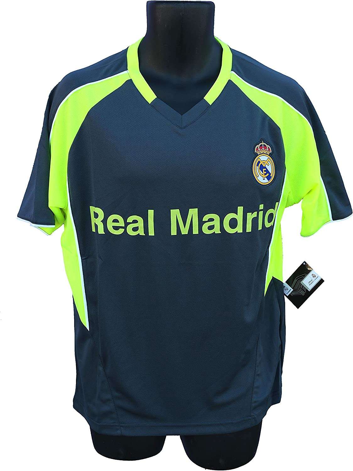 Real Madrid Soccer Official Adult Soccer Training Performance Poly Jersey P003R