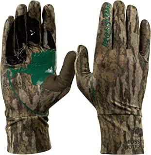 Mossy Oak Lightweight Hunting Gloves for Men, Bow Hunting...
