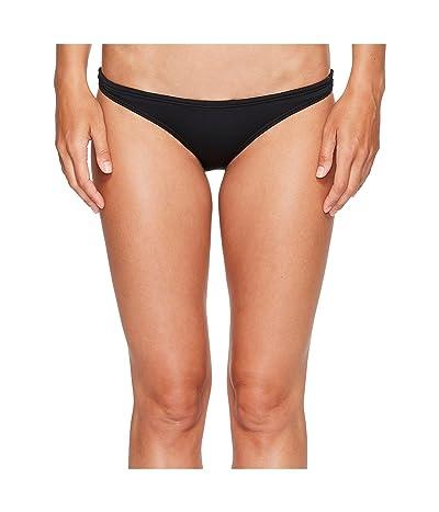 TYR Solid Micro Bikini Bottom (Black) Women