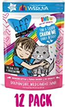 Weruva B.F.F. OMG - Best Feline Friend Oh My Gravy! Grain-Free Natural Wet Cat Food Pouches, Original Tuna Recipes in Gravy