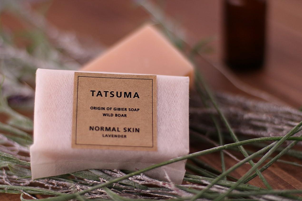 すでに食物要求するたつま石鹸21(化粧石鹸) 非加熱製法 | TATSUMA NORMAL SKIN LAVENDER