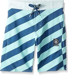 Volcom Boys' Big Stripey Elastic 16 Boardshort