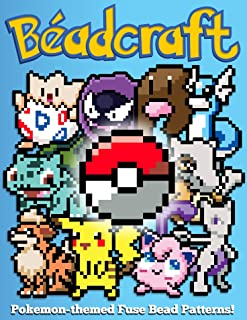 Beadcraft: Pokemon-themed Fuse Bead Patterns! (English Edition)