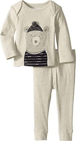 Bear Long Sleeve Two-Piece Set (Infant)