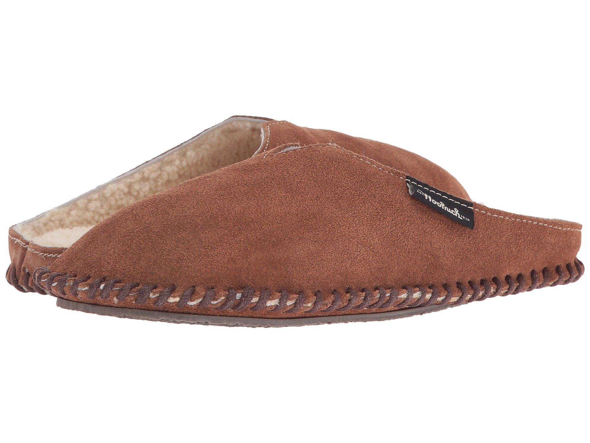 Zapato de Descanso para Mujer Woolrich Suede Mill Scuff  + Woolrich en VeoyCompro.net