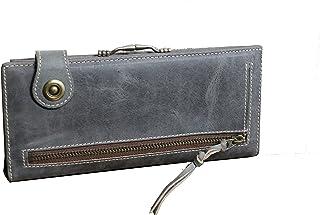 (アインソフ)Ain Soph オールドレザーのがまぐち付きスマート長財布