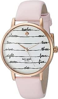 kate spade new york Women's Metro Pink Watch KSW1239
