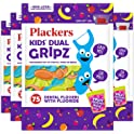 300-Count (4 x 75-Count) Plackers Kids Dental Floss Picks