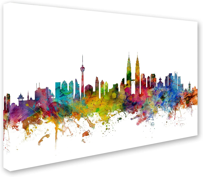 Canvas set of Kuala Lumpur Malaysia Print Wall Decor