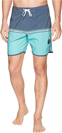Dredges Short Four-Way Stretch Boardshorts