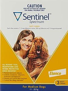 Sentinel Spectrum for Medium Dog, Yellow Pet Meds