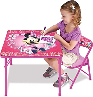 Minnie Mouse Blossoms & Bows Jr. Activity Table Set with 1 Chair
