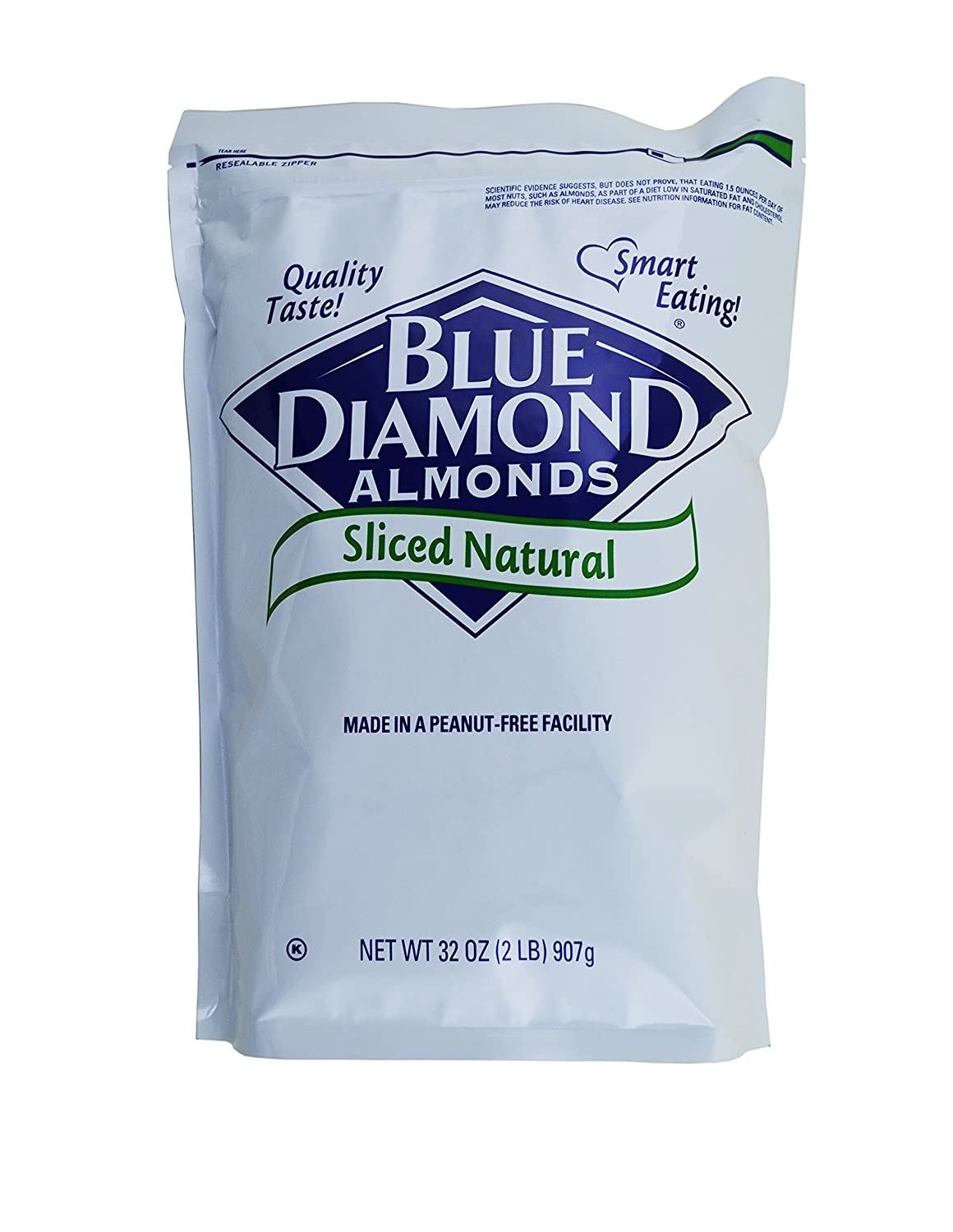 Blue Diamond Natural Sliced Financial sales sale Max 57% OFF Almonds 4 lb. Count 2