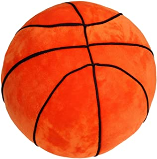 T Play Plush Basketball Pillow Fluffy Stuffed Basketball...