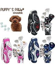 PUPPY'S PAW 仔犬の肉球 レディース ゴルフセット クラブ8本+キャディバッグ付
