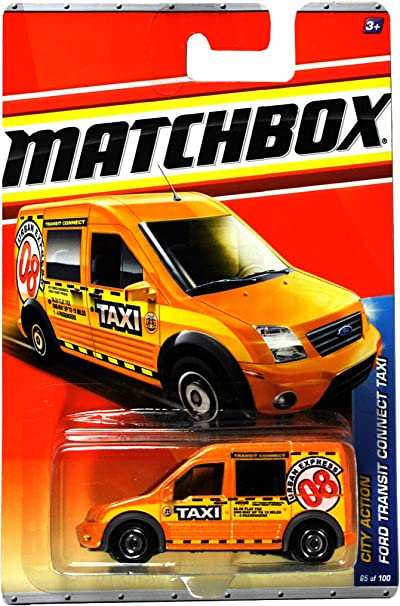2015 Matchbox City Adventure 2010 Ford Transit Connet